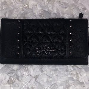 Jessica Simpson Black Lily Wallet NWT